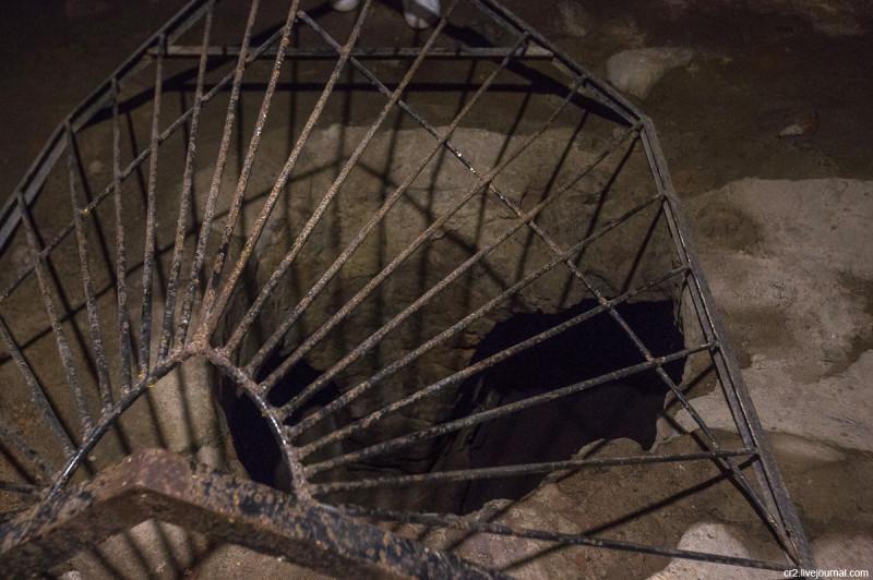 Подземный ход в крепости Корела (Кекгольм). Приозерск, Ленинградская область