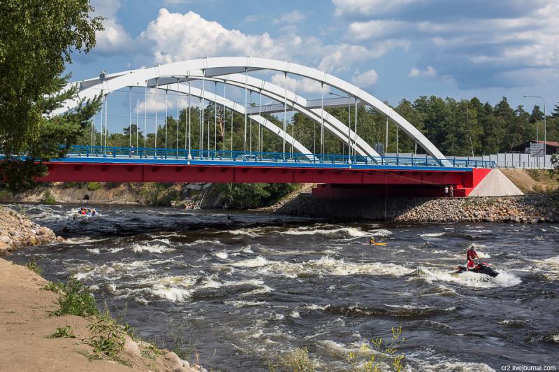 Пороги на реке Вуокса. Лосево, Ленинградская область