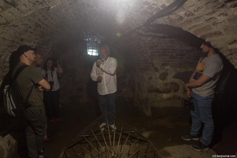 Камера, где была заточена семья Емельяна Пугачёва. Крепость Корела. Приозерск, Ленинградская область
