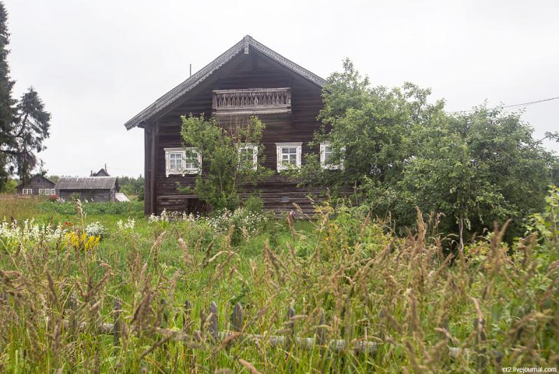 Самый старый дом деревни. Кинерма, Карелия