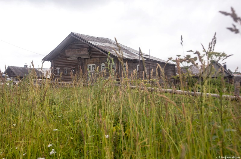Самый большой дом деревни. Кинерма, Карелия