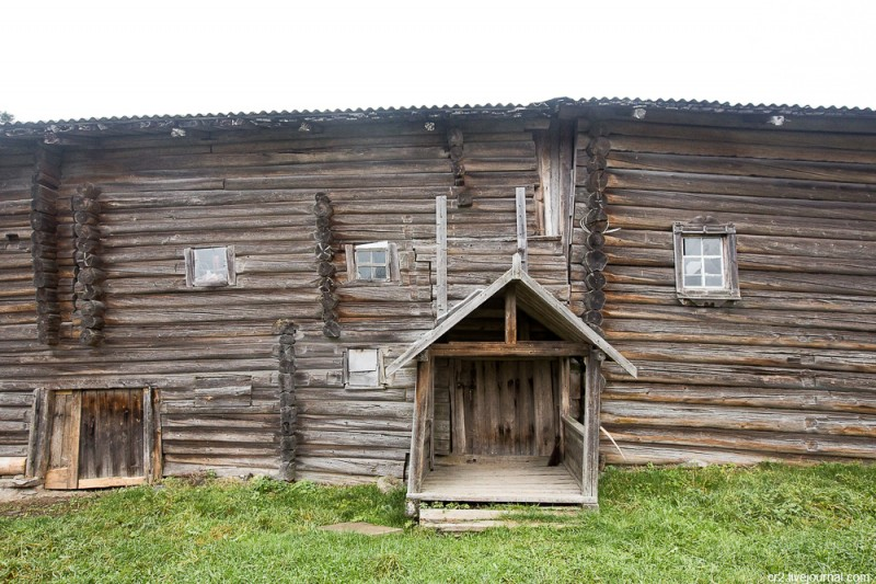 Старый дом. Кинерма, Карелия
