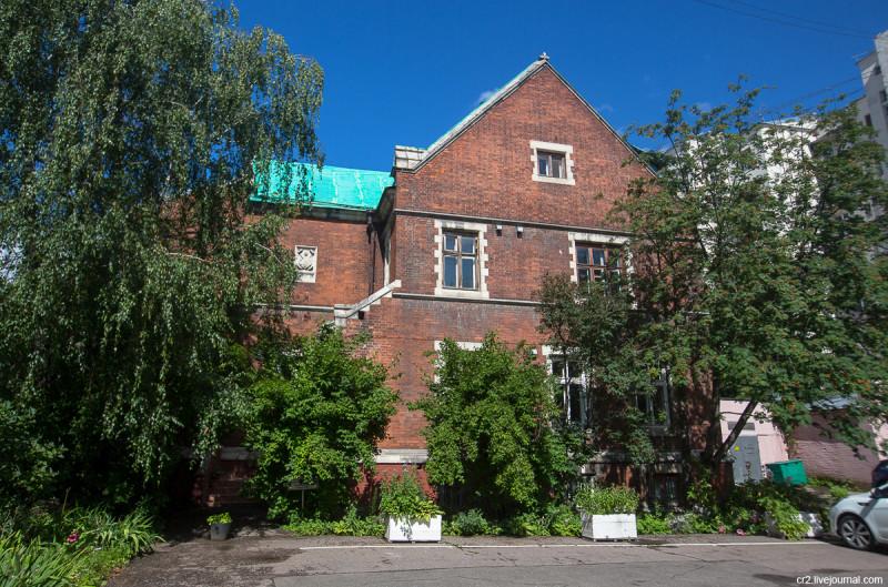 Дом настоятеля англиканской церкви святого Андрея. Москва