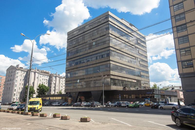 Бывшее здание Главного вычислительного центра Госплана СССР. Москва