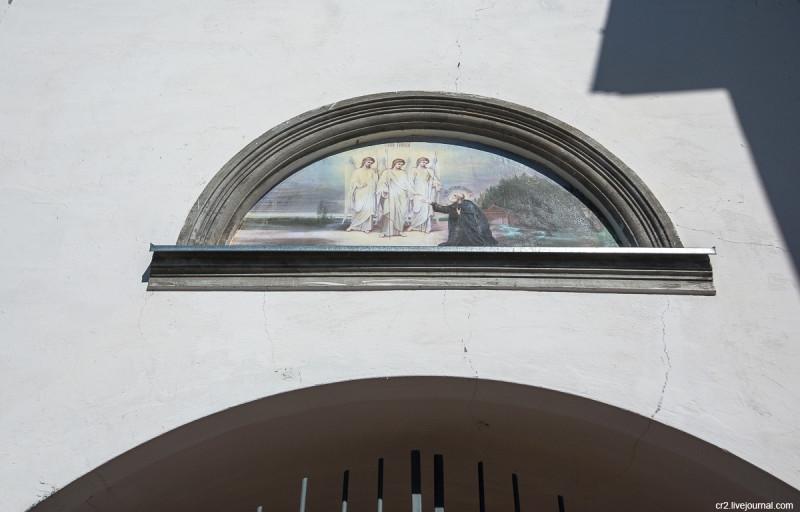Основатель Александро-Свирского монастыря - святой Александр Свирский. Ленинградская область
