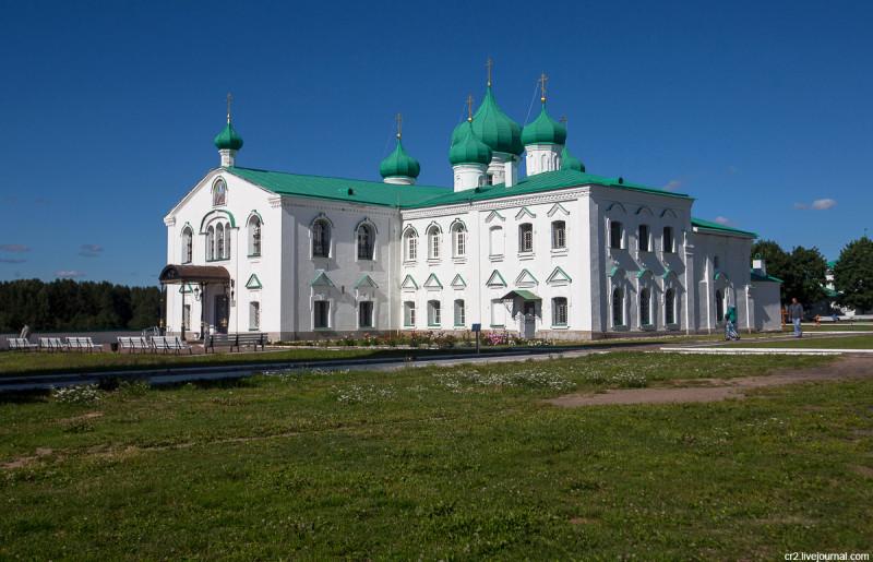 Александро-Свирский монастырь. Преображенский собор. Ленинградская область