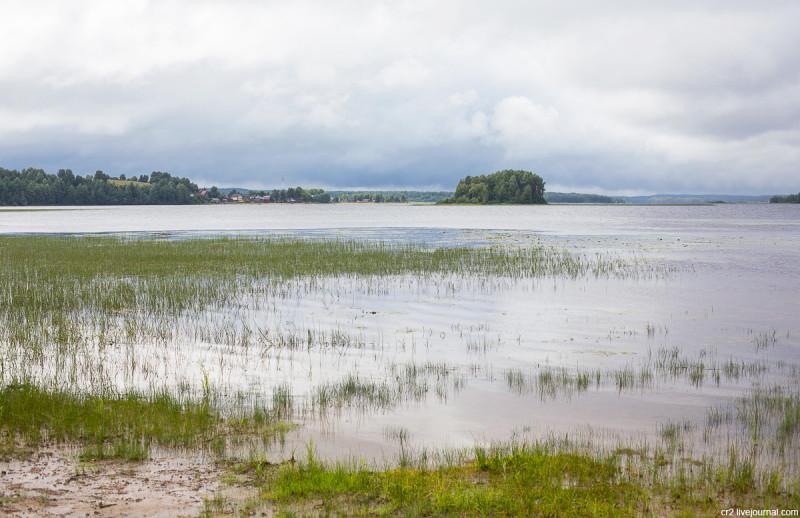 Долгое озеро у деревни Карпова. Кенозерский национальный парк, Архангельская область