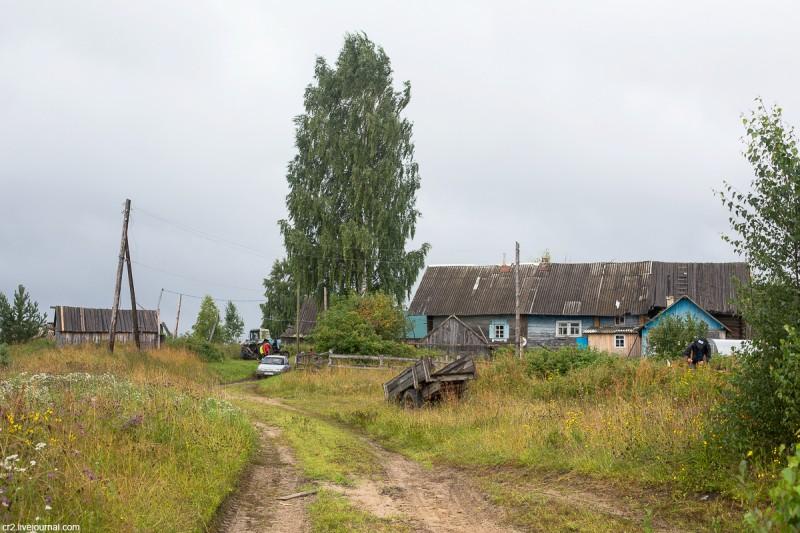 Деревня Карпова. Кенозерский национальный парк, Архангельская область