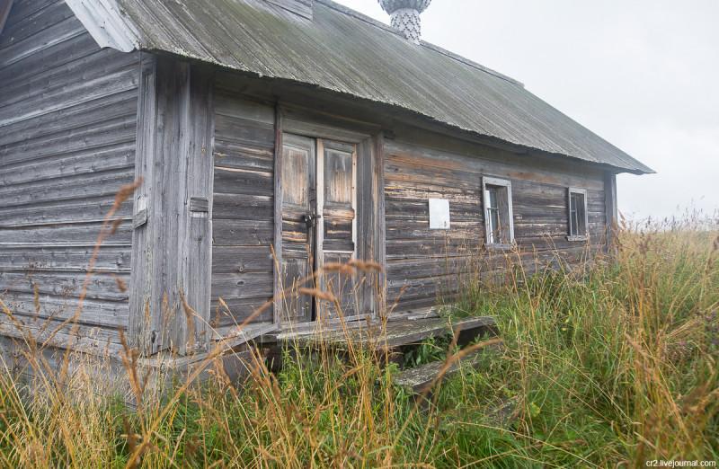 Часовня Пахомия Кенского. Деревня Карпова. Кенозерский национальный парк, Архангельская область