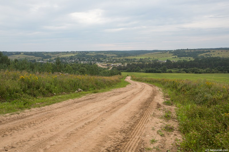 Пейзаж около Федьково, Архангельская область
