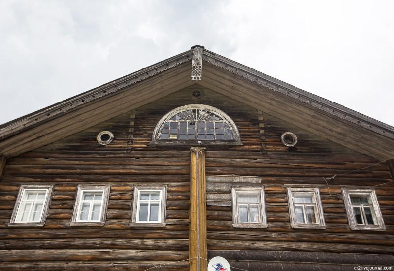 Старинный жилой дом. Ныкола, Архангельская область