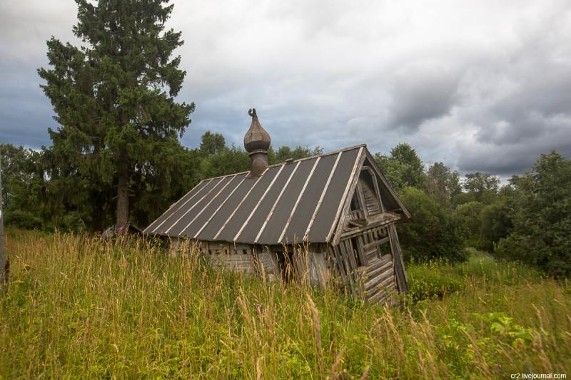 Никольская часовня. Аверкиевская, Архангельская область