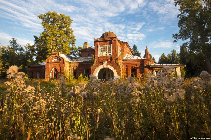 Заброшенная усадьба Матренино, главный дом. Нелидовский городской округ, Тверская область