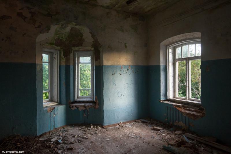 Заброшенная усадьба Матренино, интерьеры 2-го этажа. Нелидовский городской округ, Тверская область