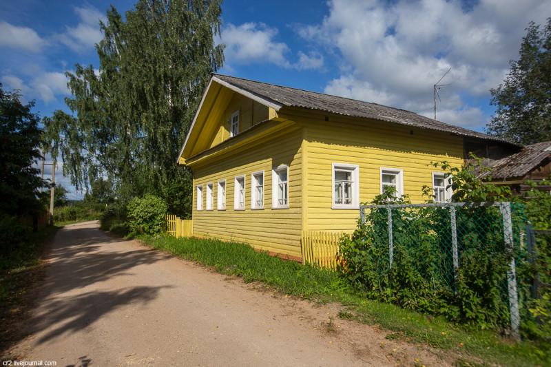 Деревня Возгрецовская, Архангельская область