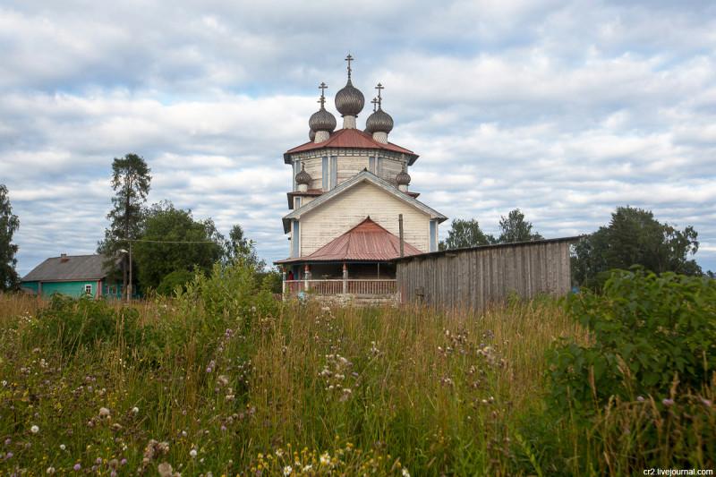 Богоявленская церковь. Столетовская (Лядины), Архангельская область