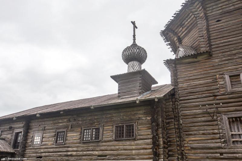 Церковь Иоанна Златоуста в Саунино. Каргопольский район, Архангельская область