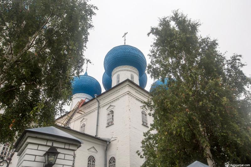 Сретенская церковь. Рикасово, Архангельская область