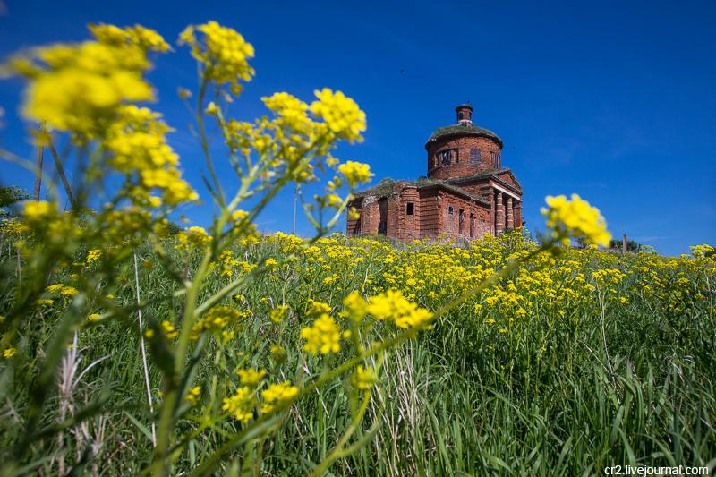 Заброшенные церкви в окрестностях Крапивны