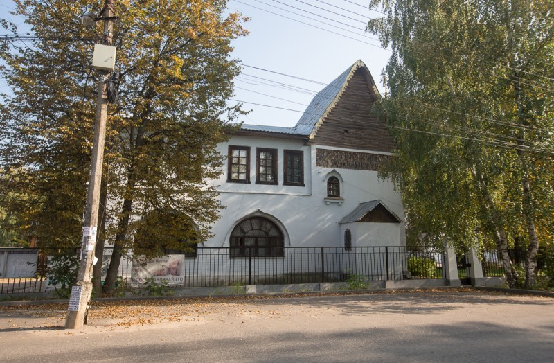 Здание церковно-приходской школы в посёлке Клязьма (Московская область). Фото автора поста
