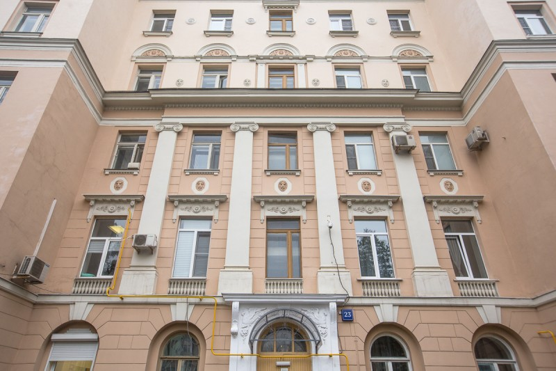 Дом трёх эпох. Москва. Нижние 3 этажа 18-го века и 4-й этаж начала 20-го. Фото автора статьи