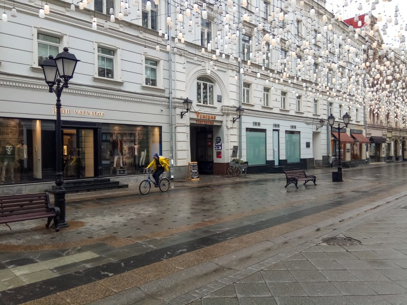 Столешников переулок. Москва. Фото автора поста