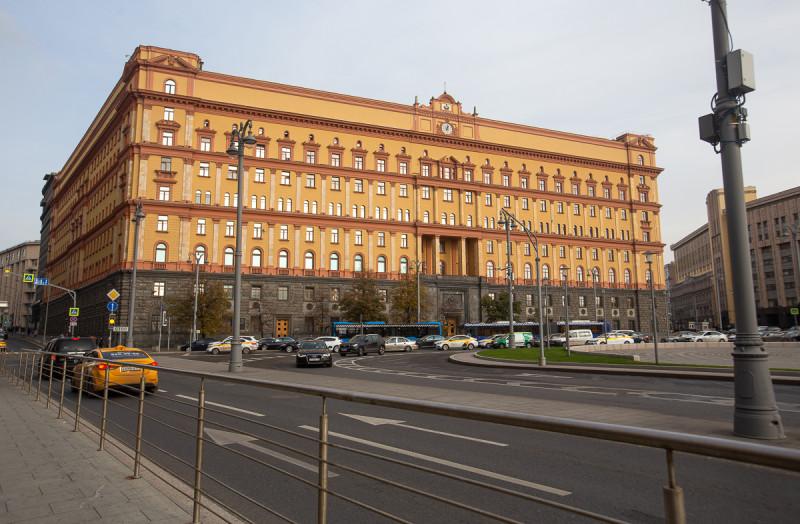 Здание КГБ/ФСБ на Лубянской площади. Москва. Фото автора поста