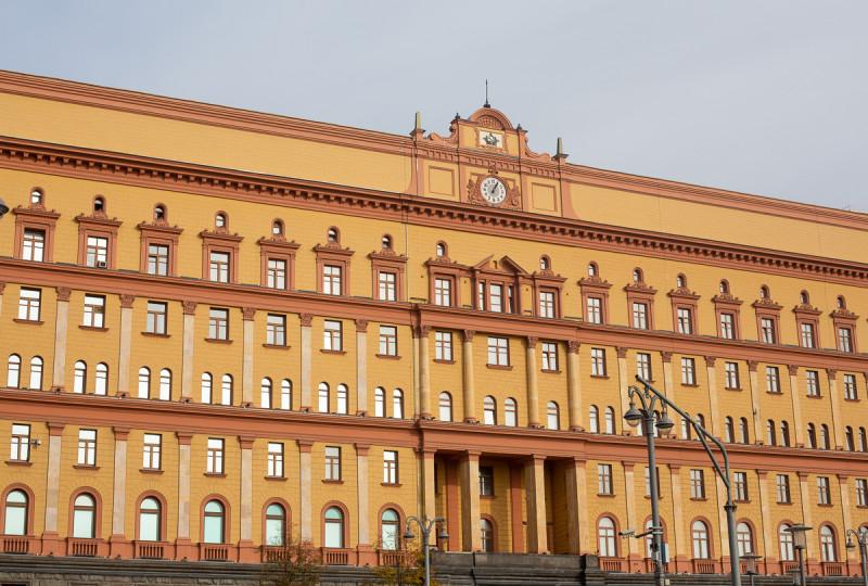 Часы на здании КГБ/ФСБ на Лубянской площади. Москва. Фото автора поста
