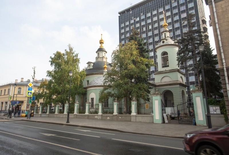 Храм святых Космы и Дамиана на Маросейке. Москва. Фото автора поста