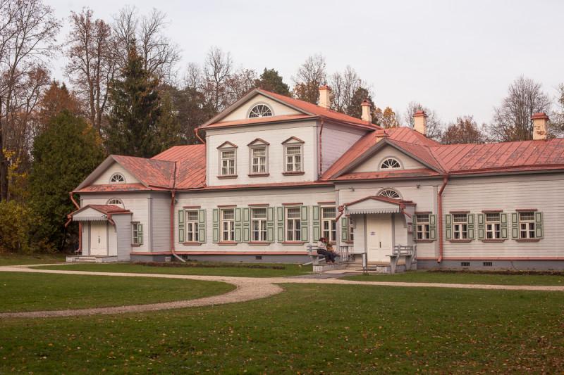 Усадьба Абрамцево, главный дом. Московская область. Фото автора поста