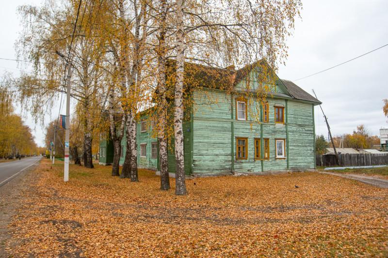 Посёлок Туголесский Бор. Московская область. Фото автора поста