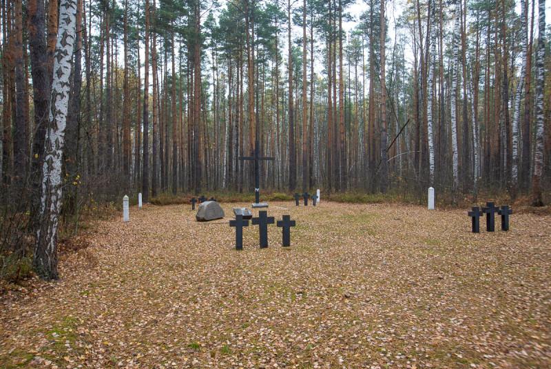 Кладбище военнопленных. Туголесье, Московская область. Фото автора поста