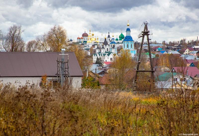 Вид Арзамаса. Нижегородская область