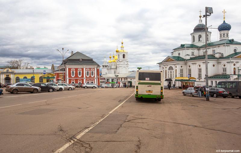 Соборная площадь. Арзамас, Нижегородская область