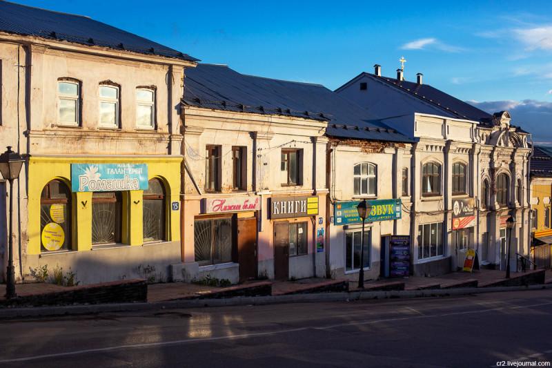 Улица Гостиный Ряд. Арзамас, Нижегородская область
