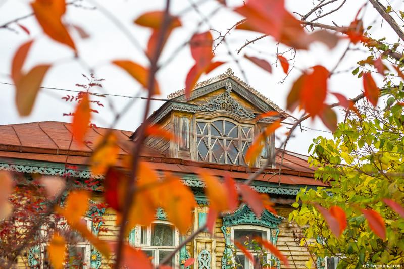 Деревянная застройка Арзамаса. Нижегородская область