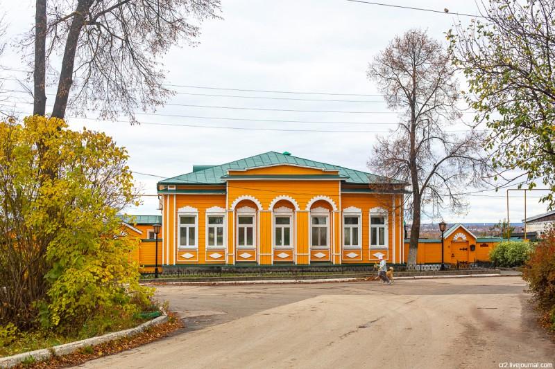 Дом Бессонова, где по арзамасским легендам останавливался по пути в Болдино Пушкин. Арзамас, Нижегородская область