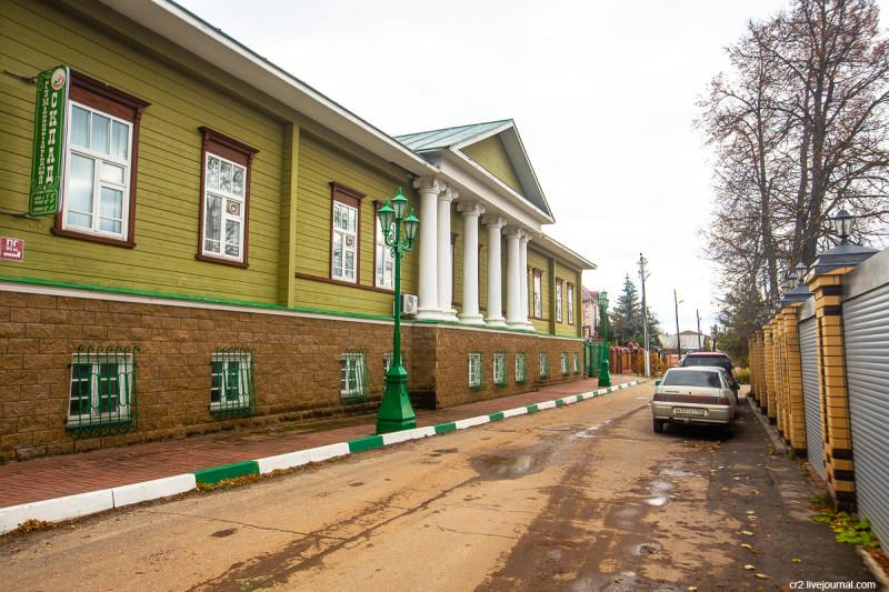 Дом уездного земства. Арзамас, Нижегородская область