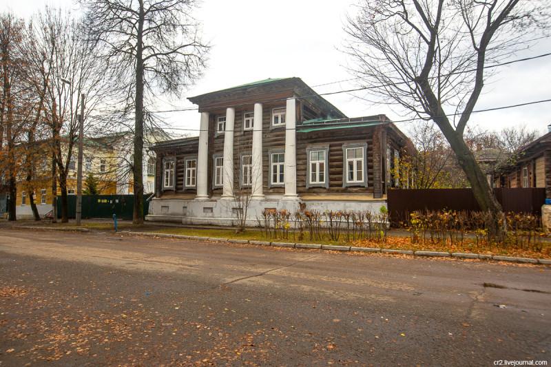 Усадьба купца Попова. Арзамас, Нижегородская область