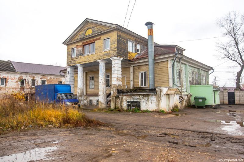 Городская усадьба Жевакиных. Арзамас, Нижегородская область