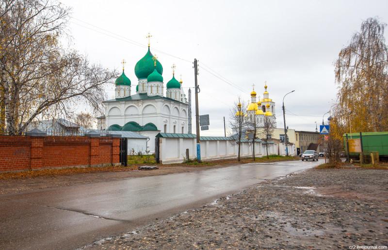 Преображенский собор Спасского монастыря. Арзамас, Нижегородская область
