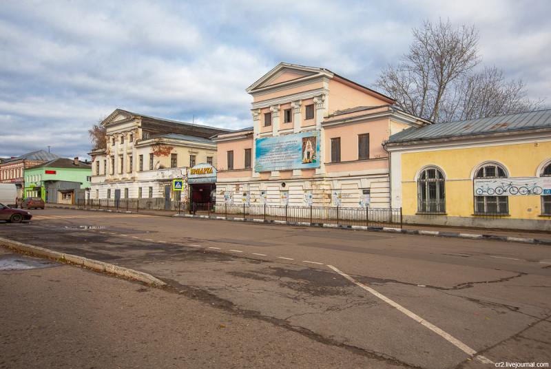 Дома-близнецы купца Подсосова (дома Будылиной). Арзамас, Нижегородская область