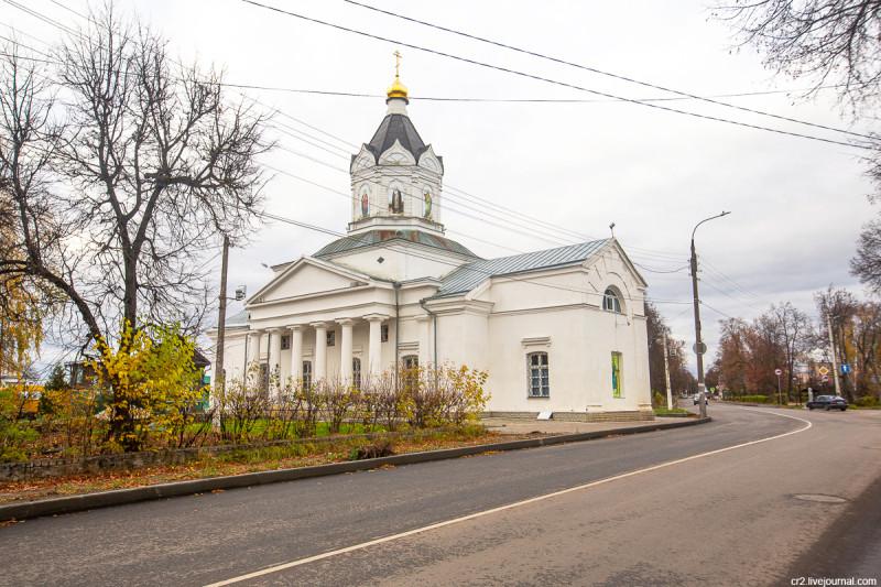 Казанская церковь. Арзамас, Нижегородская область