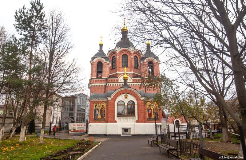 Знаменский храм в Ховрино. Москва