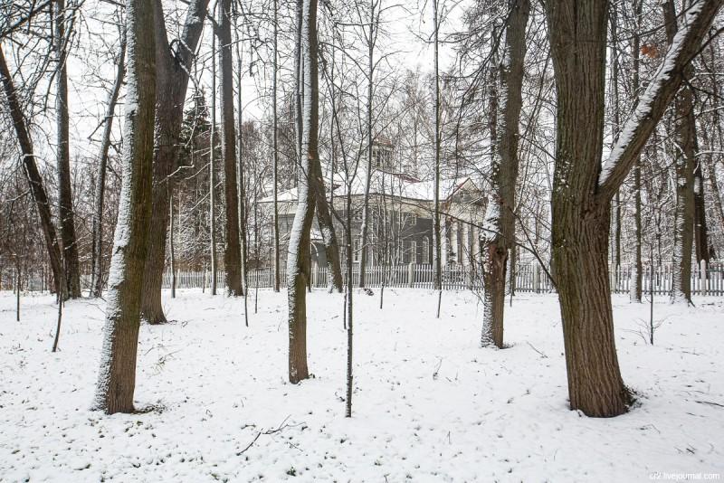 Усадьба Захарово, где прошли детские годы А.С. Пушкина. Московская область