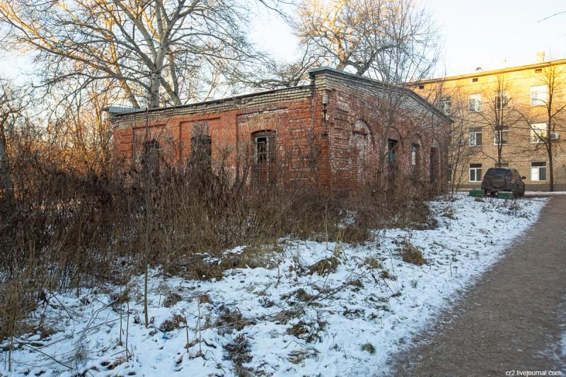Бывшая пивоварня в усадьбе Алтуфьево. Москва
