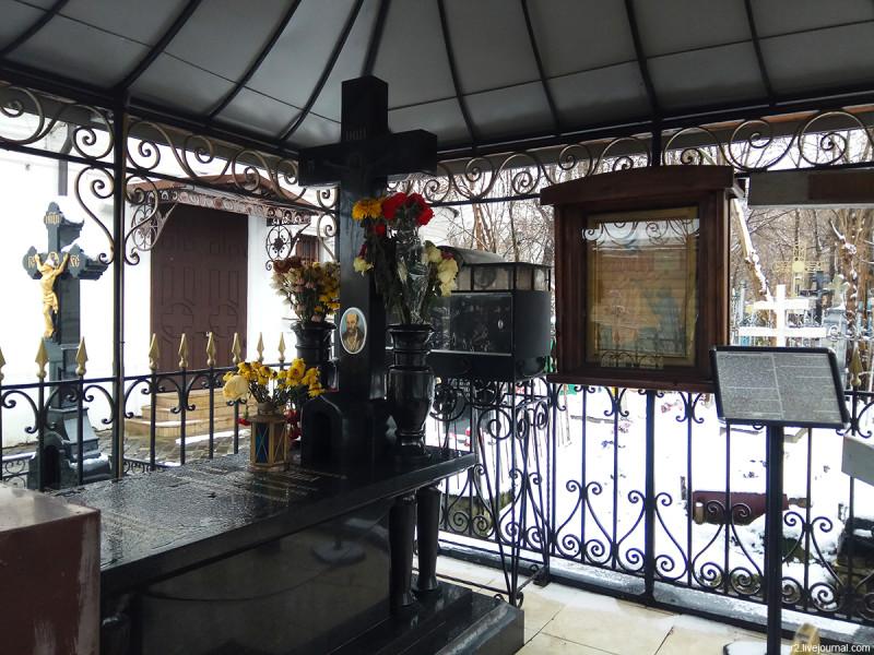 Могила блаженного Ивана Яковлевича Корейши на Черкизовском кладбище в Москве