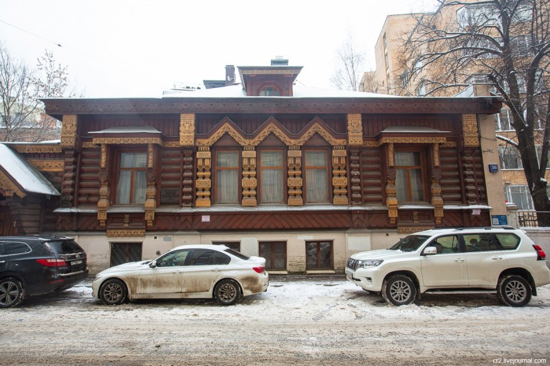 Дом Пороховщикова. Москва
