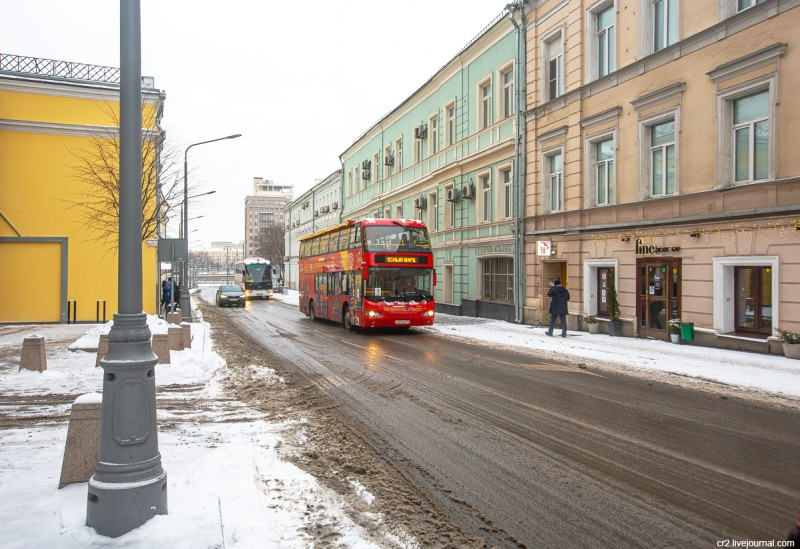 Улица Ленивка. Москва