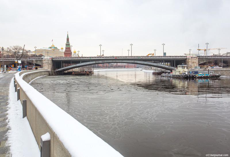 Большой Каменный мост. Москва